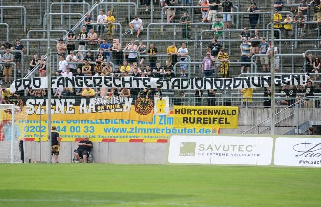 Fußball Testspiel Wuppertaler SV Alemannia Aachen am 20 07 2014 im Stadion am Zoo in Wuppertal Ba