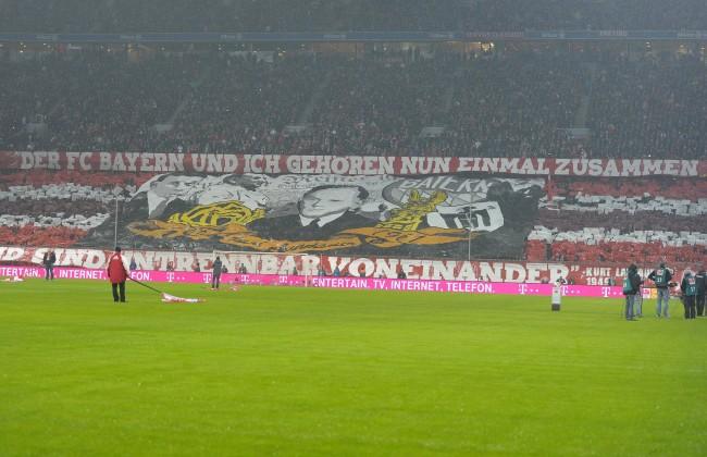 02 02 2014 Fussball 1 Bundesliga 2013 2014 19 Spieltag FC Bayern München in der Allianz Arena M