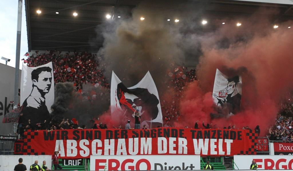 11 08 2014 Fussball Saison 2014 2015 2 Fussball Bundesliga 02 Spieltag Fürth 1 FC Nü