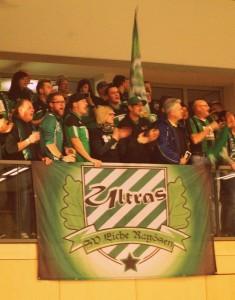 Eiche-Fans beim Hallenturnier in Brandenburg