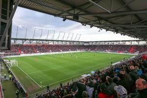 2 BL FC Ingolstadt 04 fast ausverkauft Audi Sportpark 2 BL FC Ingolstadt 04