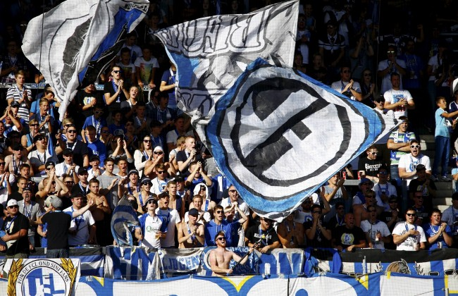 19 10 2014 Luzern Fussball Herren Super League Saison 2014 2015 Swissporarena FC Luzern Bild zeigt