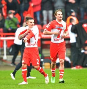 Fussball Herren 2 Bundesliga Saison 2014 2015 20 Spieltag 1 FC Union Berlin in der 7 Min