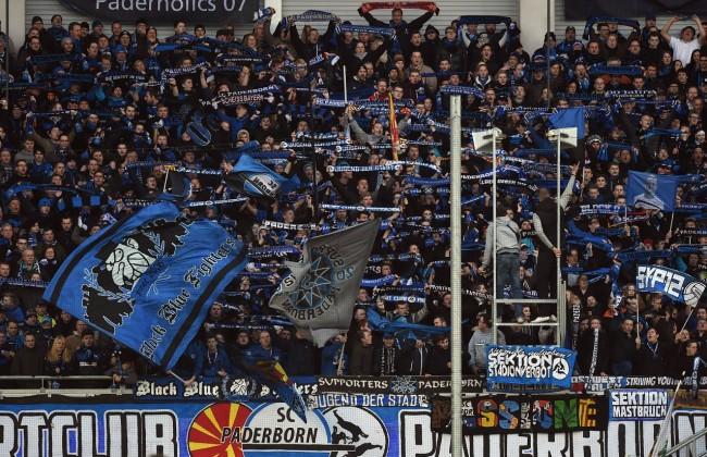 21 02 2015 Fussball Saison 2014 15 1 Bundesliga 22 Spieltag SC Paderborn FC Bayern München