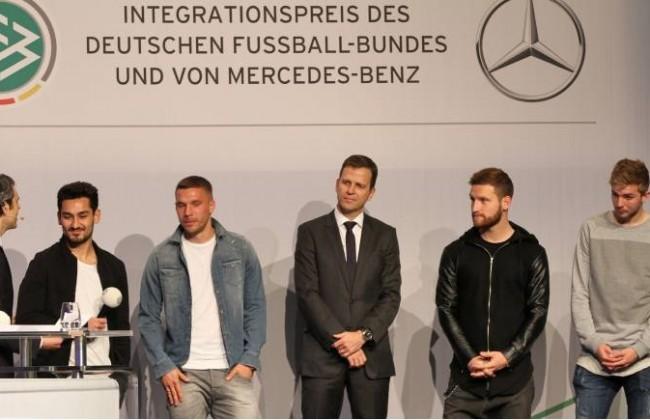 26 03 2015 Frankfurt am Main Palais Frankfurt Verleihung des DFB und Mercedes Benz Integrationspre